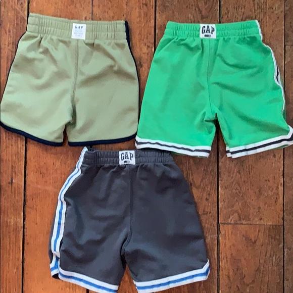 4f0e96ddf3d50 GAP Bottoms   3 Pairs Of Baby Boys Shorts   Poshmark
